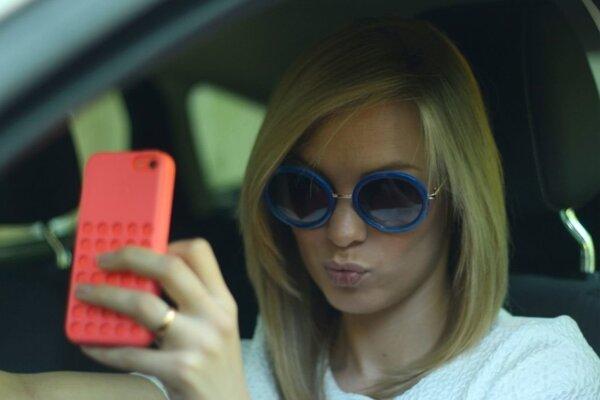 selfie za volantom