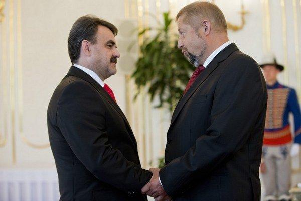 Štefan Harabin patril pri vymenovaní nového šéfa prokuratúry Jaromíra Čižnára k prvým gratulantom.