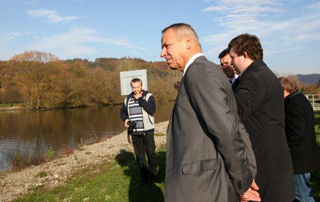 Primátor Ján Nosko zoznámil ministra s postojom mesta k plánovanej výstavbe elektrární Iliaš a Vlkanová.
