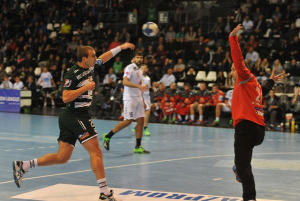 Nepomohlo ani šesť gólov Tomáša Čípa. Vardar Skopje potvrdil vPrešove obrovskú kvalitu.