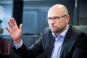 Šéf SaS Richard Sulík.