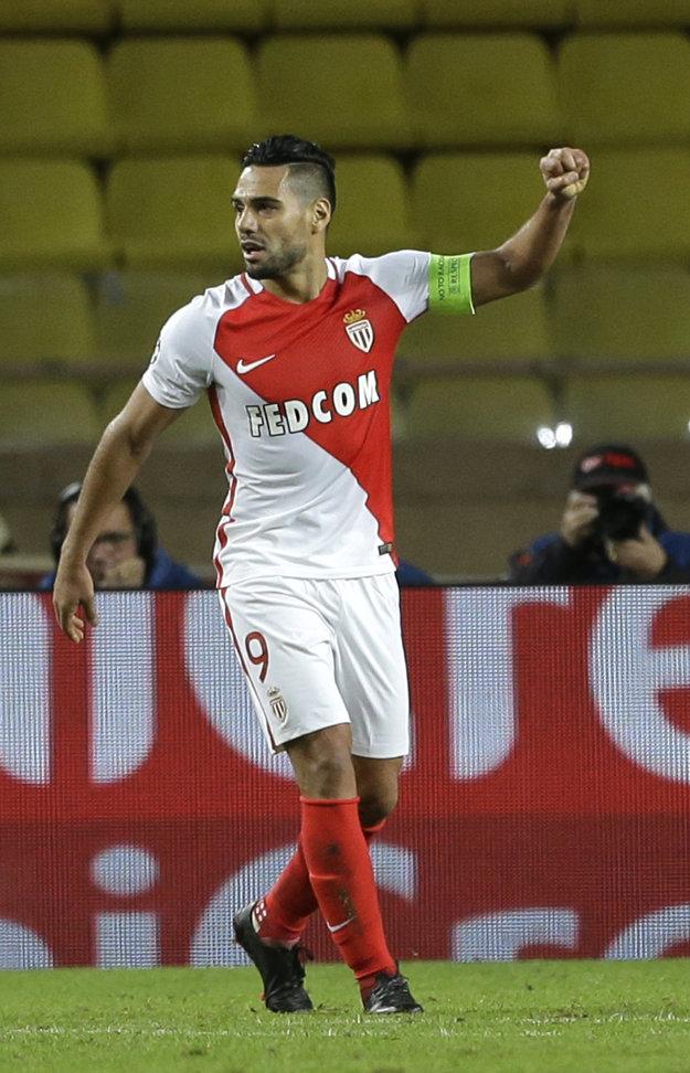 Radamel Falcao v tejto sezóne v drese Monaka hviezdi.