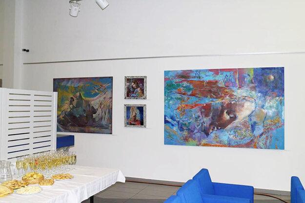 Aktuálna výstava akademického maliara Stana Trepáča Brány do iných svetov III.