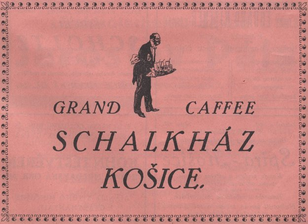 Hotel Schalkház - reklama z r. 1925.