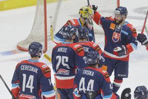 Slováci sa radujú po víťazstve nad Nemeckom.