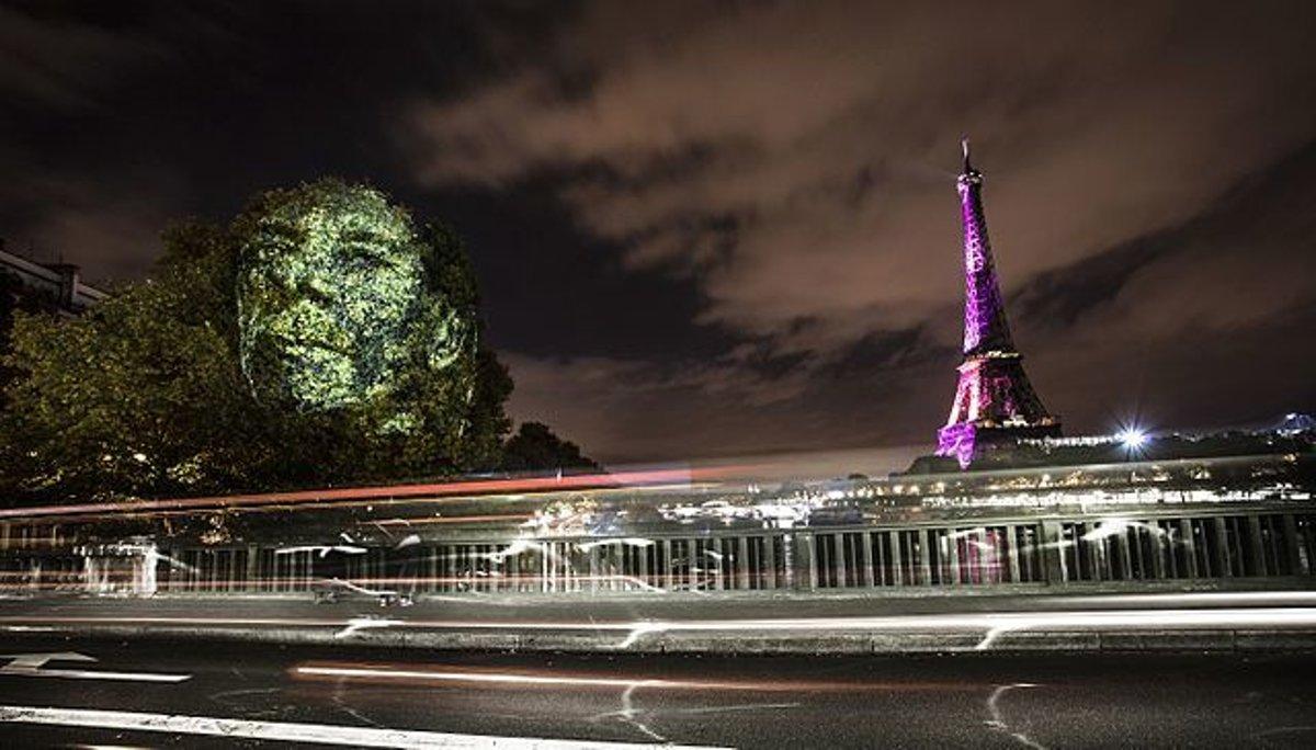 42d1341d1d9f2 Philippe Echaroux už svojim pouličným umením uspel aj v Paríži.