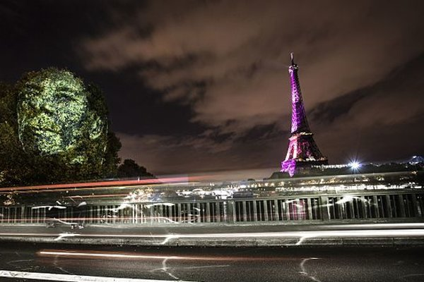 Philippe Echaroux už svojim pouličným umením uspel aj v Paríži.