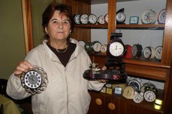 Katarína Svoradová svoju zbierku stále rozširuje.