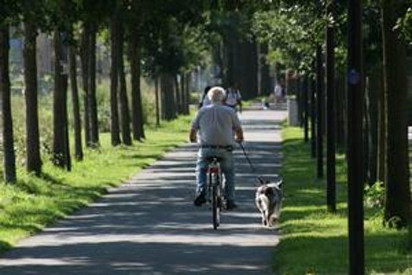 Vo vyššom veku už nie je výkon taký dôležitý. Rozhodujú záujmy, pohoda aj radosť z jazdy.