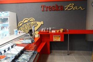 Nový Treska bar v Rajci.
