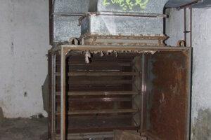 Interiér jedného z troch bunkrov.