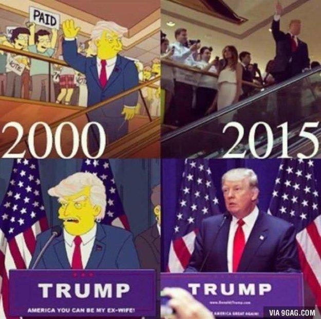 Simpsonovci vývoj udalostí predpovedali.