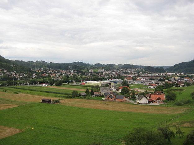 Slovinské mestečko Sevnica.