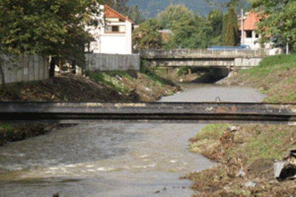 Handlovku vyčistili v Prievidzi až po augustovej povodni.