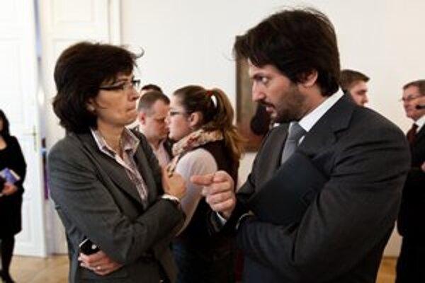 Lucia Žitňanská a Robert Kaliňák o voľbe generálneho prokurátora diskutovali v relácii O 5 minút 12.