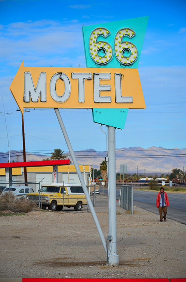 Motel v Needles, CA.