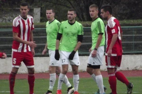 O jediný gól Dukly sa postaral Gabriel Snitka (vpravo).