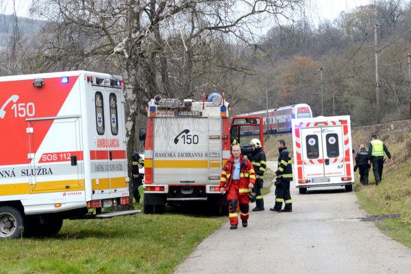 Tu sa to stalo. Zasahovali záchranka, polícia i hasiči.