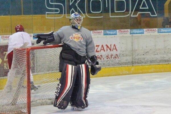 Marek Šimko počas tréningu
