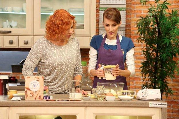 Katka sa so svojimi koláčikmi predstavila aj v televízii.