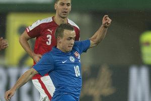 Tréner Ján Kozák dal šancu aj Stanislavovi Lobotkovi.
