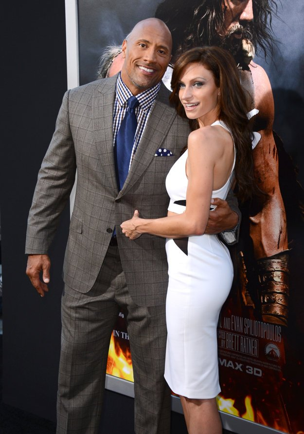 Dwayne Johnson s partnerkou Lauren Hashian