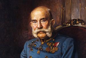 Cisár František Jozef I. vo veku 85 rokov.
