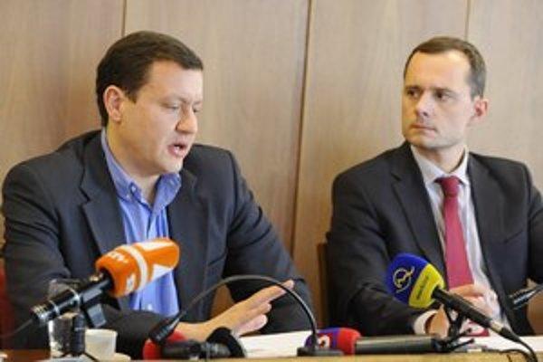 Mladí a ambiciózni. Daniel Lipšic chce zjednotiť pravicu, Radoslav Procházka chce byť hlavou štátu.