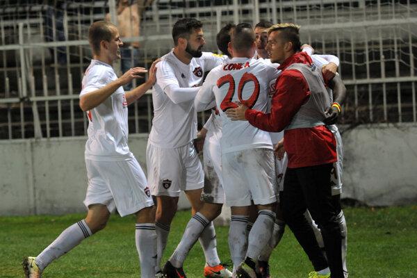 Spartak sa po dvoch prehrách opäť tešil z plného bodového zisku.