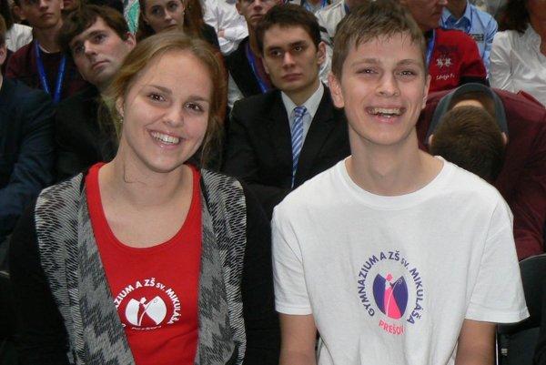 Miriam Feretová a Samusle Smoter.