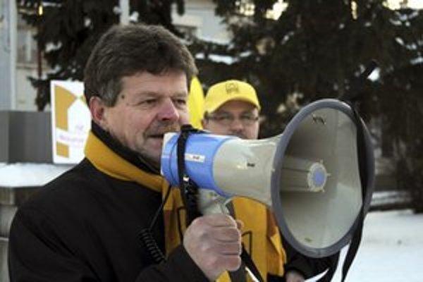 Šéf školských odborárov Pavel Ondek.