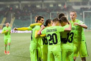 Futbalisti MŠK Žilina majú v tejto sezóne skvelú formu.
