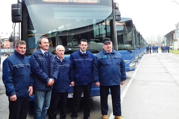 V nových autobusoch je väčší komfort nielen pre cestujúcich, ale aj šoférov.
