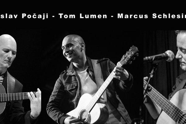 Návštevníci koncertu si vypočujú Stanislava Počajiho, Toma Lumena a Markusa Schlesingera.