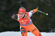 Biatlonistka Paulína Fialková je veľkým prísľubom.