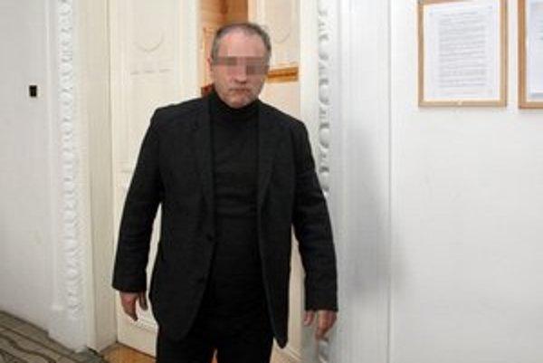 Finančný exriaditeľ SPP Ivan Maroš na pojednávaní Špecializovaného trestného súdu.