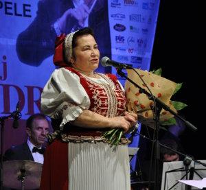 Monika Kandráčová. Jej bol venovaný celý projekt.