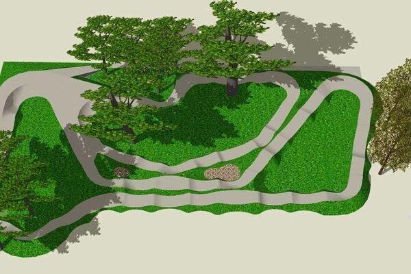 Dráha ponúknu rôzne stupne náročnosti a využívať ju bude môcť viacero jazdcov súčasne.