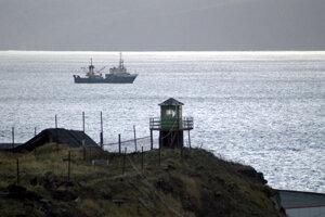 Kurilské ostrovy.
