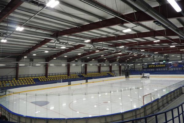 Nový zimný štadión vo Vranove.