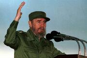 Dlhoročný kubánsky líder Fidel Castro na fotke z roku 1999.