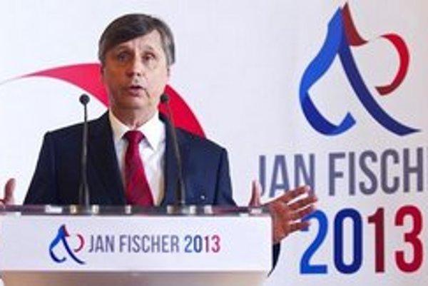 """Nechcem kariérneho komunistu, napísal jeden z """"donorov"""" Janovi Fischerovi do jeho volebného účtu."""