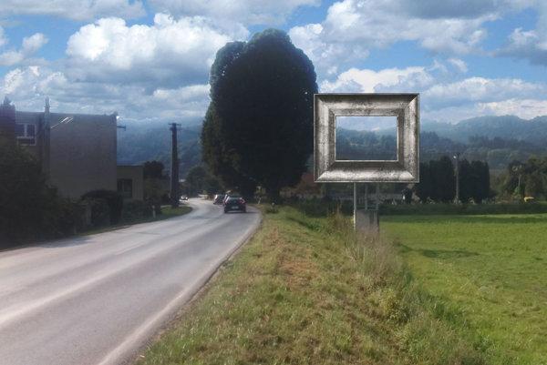 Zarámované pohľady na okolie Svederníka. Asi tak ich vnímal Vincent Hložník.