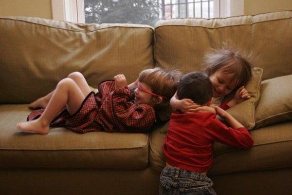 Deti z cukru nezdivočejú.
