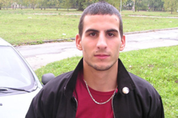 Úspešný zápasník rimavskosobotskej Lokomotívy Michal Radnóti.