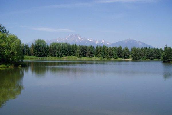 Beliansky rybník.