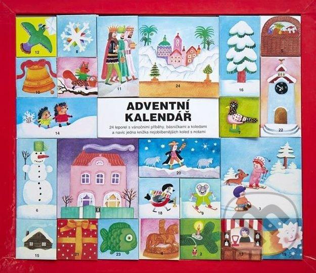 Pre milovníkov kníh. Tento adventný kalendár v sebe ukrýva dvadsaťštyri miniatúrnych knižočiek, v ktorých sú riekanky či krátke rozprávky viažuce sa k Vianociam.