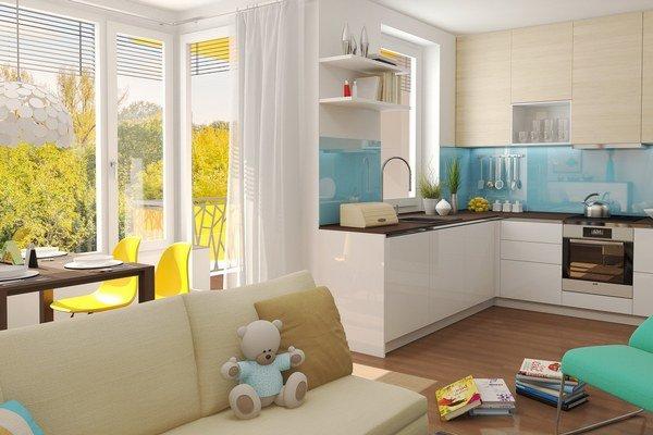 Pri výbere bytu, najmä toho malého, je dobré rozmýšľať vopred nad možnými zmenami v živote a pozrieť sa na jeho potenciál, odporúčajú architekti.