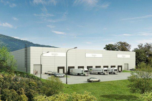 V prvej fáze výstavby, ktorú práve dokončili, postavili skladovú halu s výmerou 5 200 štvorcových metrov.
