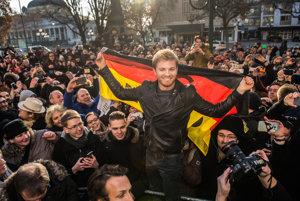 Nico Rosberg zavítal do rodného Wiesbadenu.